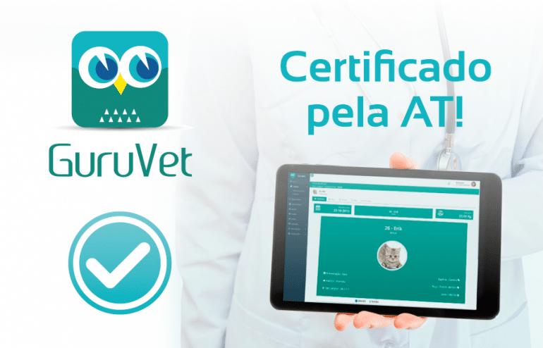 GuruVet Certificado pela AT 1