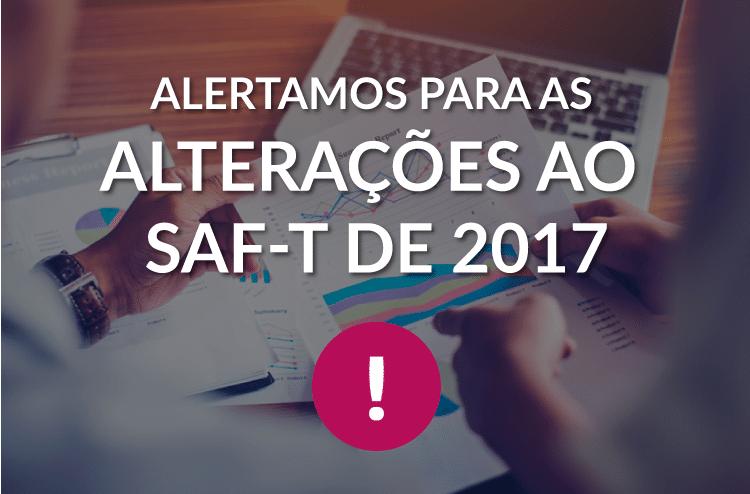 Alterações ao SAF-T de 2017 1
