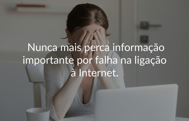 Falha de Internet