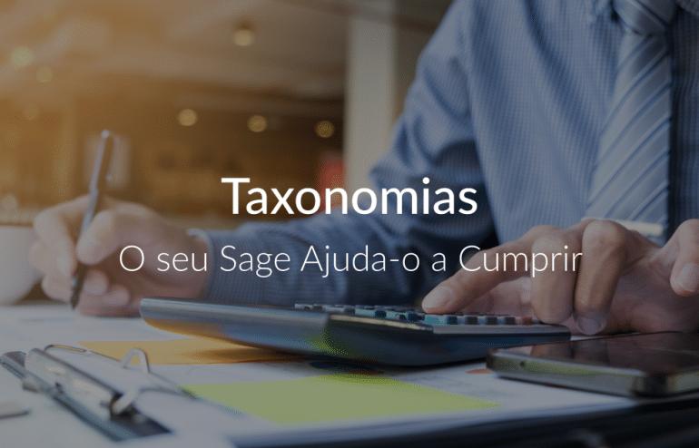 Taxonomias – O seu Sage Ajuda-o a Cumprir 1