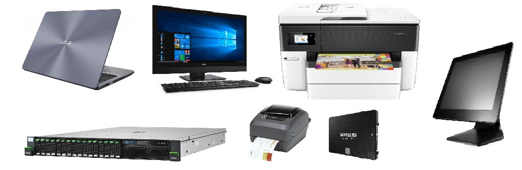 Imagem produtos de hardware comercializados pela Pontual