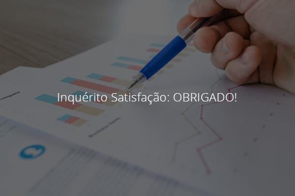 Inquérito Satisfação: OBRIGADO! 4