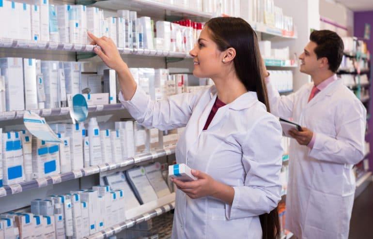 verificação de medicamentos