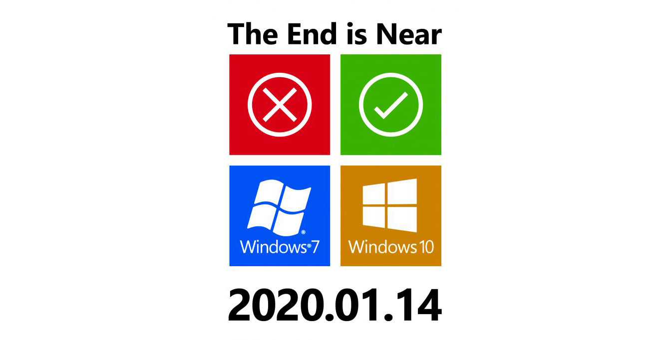 O suporte da Microsoft irá terminar no próximo dia 14 de janeiro de 2020 13