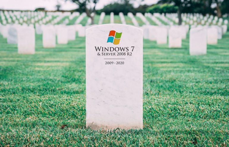 O suporte da Microsoft irá terminar no próximo dia 14 de janeiro de 2020 2