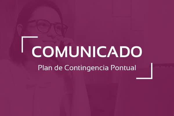 Pontual: Plan Contigencia COVID19 1