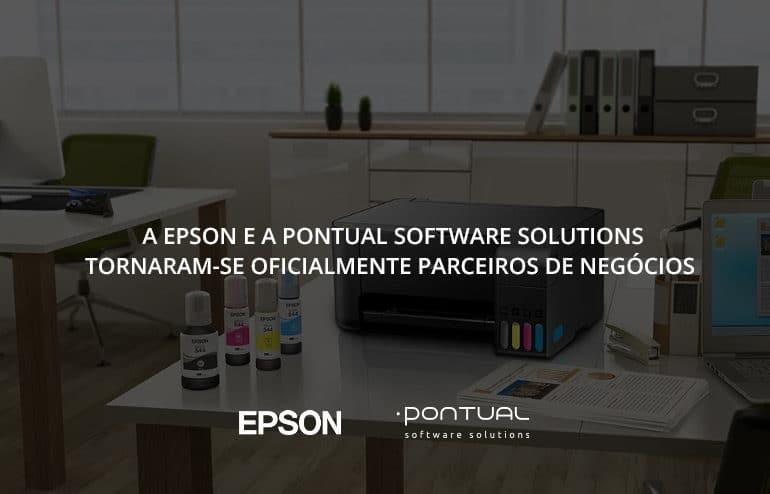 A EPSON e a Pontual tornaram-se oficialmente parceiros de negócio 1